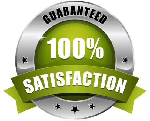 Our pest control gives you a 100% satisfaction guaranteed